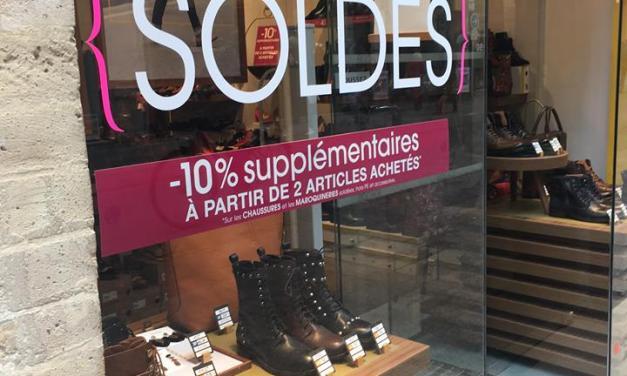 Les soldes d'hiver : dernier espoir des commerçants ?