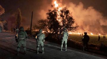 Près de 21 morts dans l'explosion d'un oléoduc au Mexique
