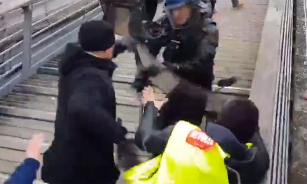 Gilets jaunes : le boxeur de gendarmes devant la justice