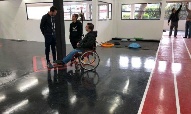 Une salle de sport s'ouvre au handicap