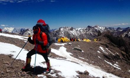 Un toulousain escalade le plus haut sommet des Amériques pour une association