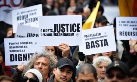 Immeubles effondrés : une « marche de la colère » à Marseille, trois mois après l'accident rue Aubagne