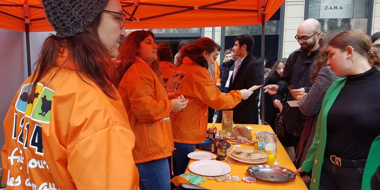 Crêpes sans œuf ni lait: dégustation en plein Toulouse
