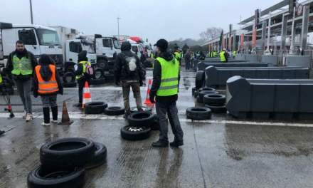 Grève générale : le péage de Toulouse Nord bloqué dès 5h du matin par 150 Gilets jaunes