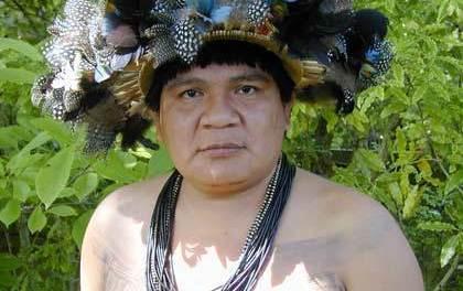 Le chef indigène Almir Narayamoga porté disparu depuis samedi