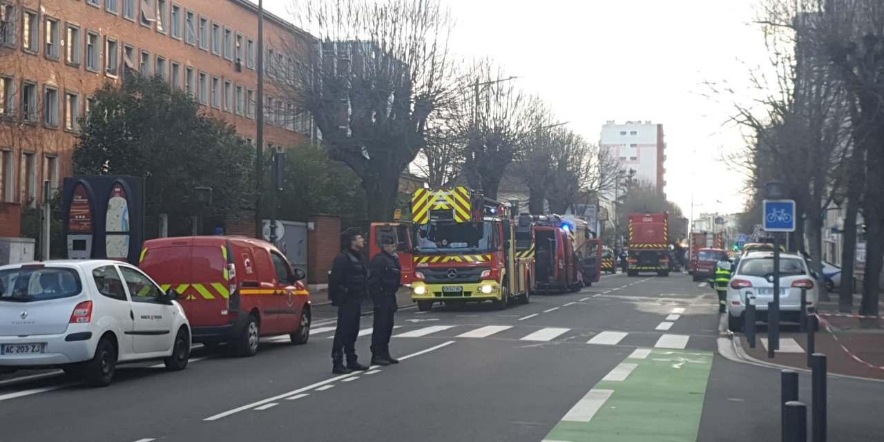 Un squat en feu à Toulouse