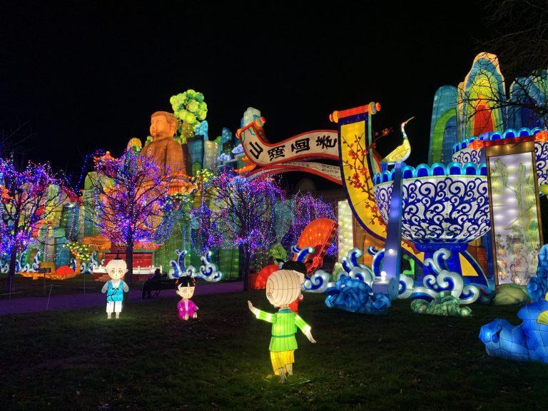 Blagnac devrait accueillir la prochaine édition du festival des lanternes. Crédit : Alix Drouillat
