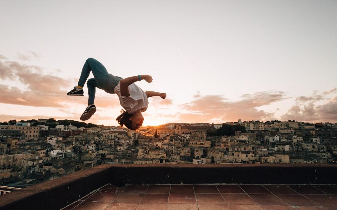 Lilou Ruel, entre obstacles et vertige