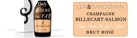 Billecart-Salmon-Rose-Free half bottle