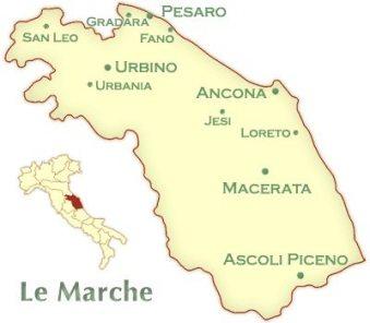 Andrea Felici-Azienda Agricola Biologica-Jesi-marche-map-italy
