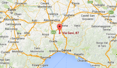 Gavi - Map