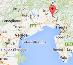 Visintini Andrea - Collio - Map