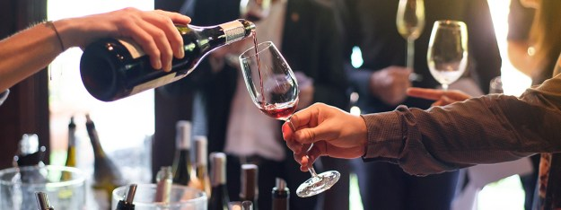 Wine pouring annual tasting