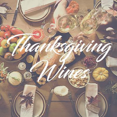 Thanksgiving 2019 wine