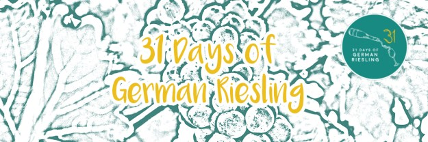 31 days of German Riesling Banner