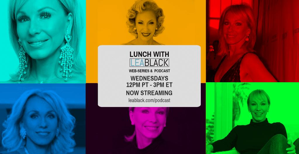 Lunch With Lea S6 BANNER | Lea Black Beauty | CBD Cosmetics