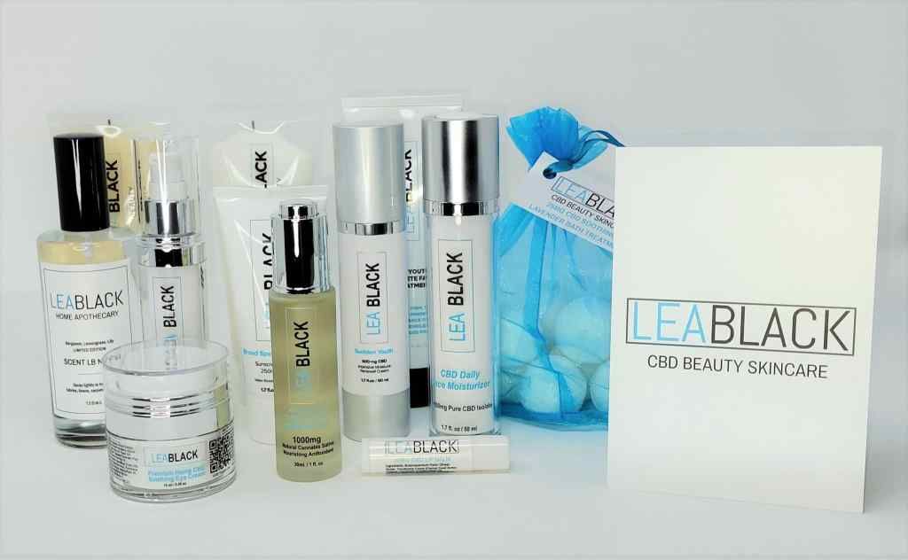 2021 LBB Group Shot All Products scaled | Lea Black Beauty | CBD Cosmetics