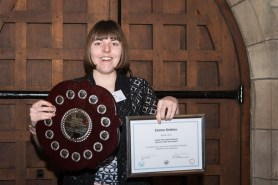 Emma Sinskins, James Hill Learner of the Year 2016