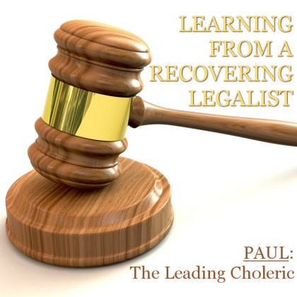 Learning From a Recovering Legalist