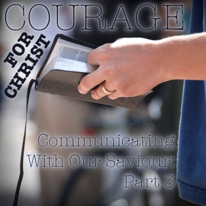 Courage For Christ