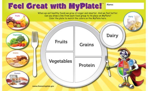 My Plate Builder activity