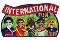 International fun patch