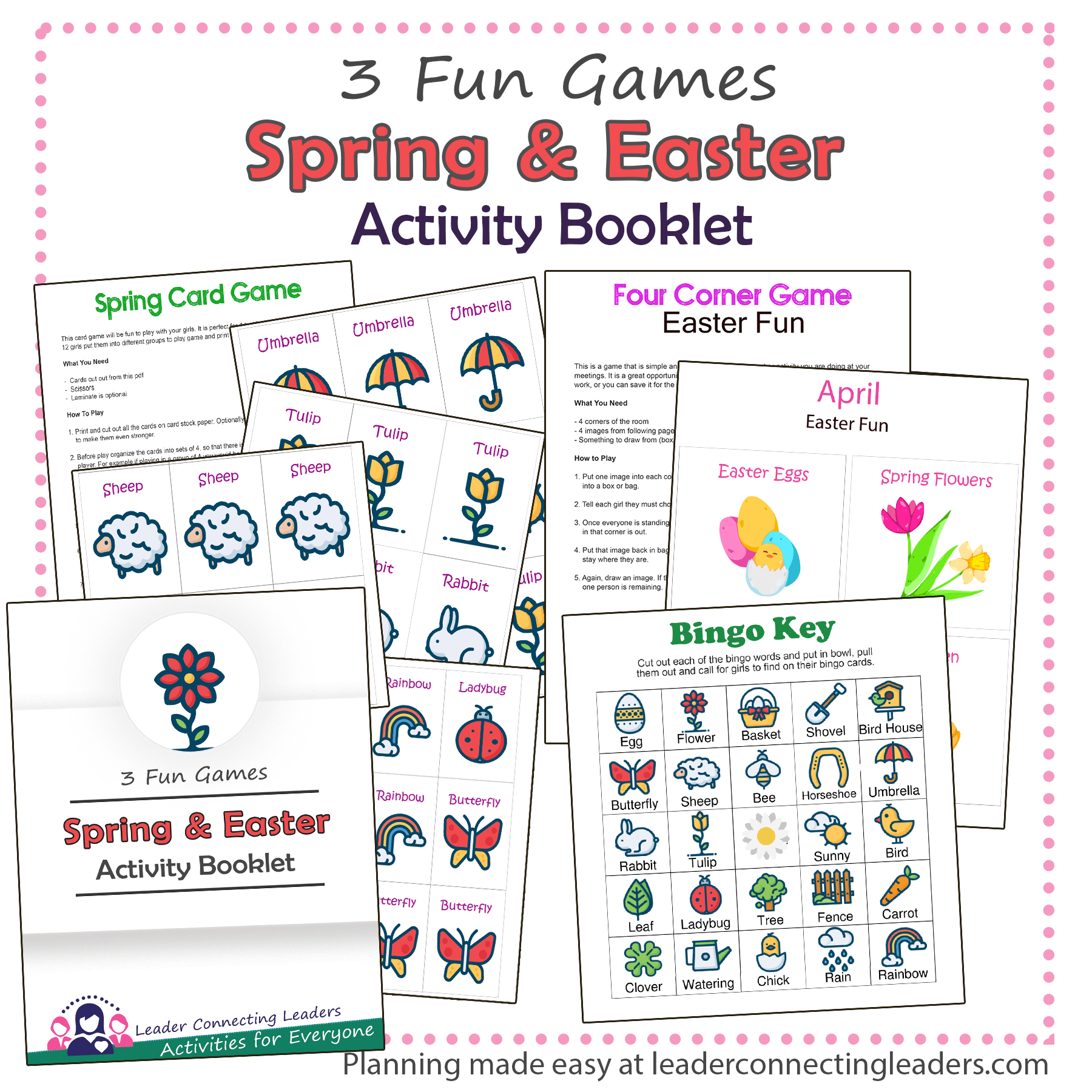 Spring and Easter Activity Booklet
