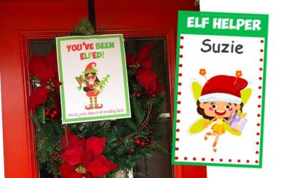 You've Been Elfed Game, Service Project and Fun Patch