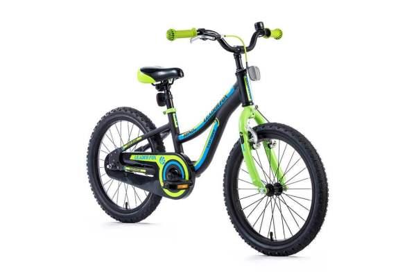 Bicicleta Leader Fox Keno 18 - negru