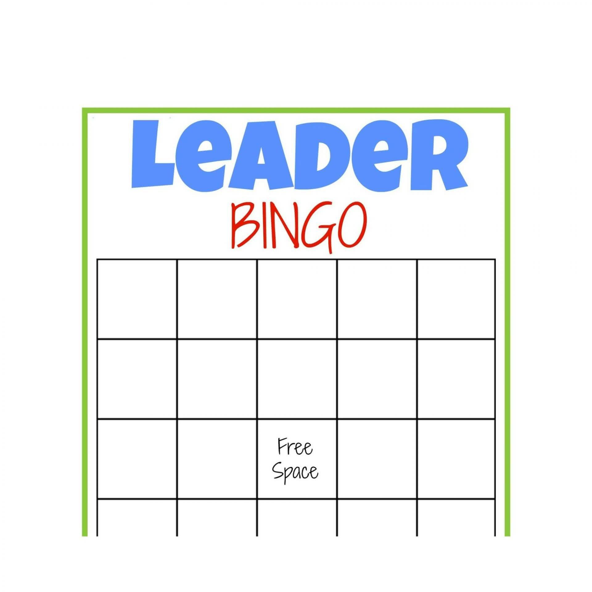 I Am So Excited To Bring You A Free Printable Leader Bingo Game Today Please Feel