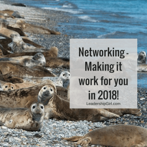 Networking- Making it work for you in 2018