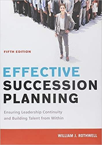 Book Cover-Effective Succession Planning by William j. Rothwell
