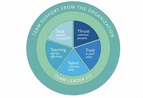The T7 Model of Team Effectiveness