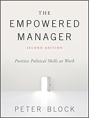 Book Cover - The Empowered Manager: Positive Political Skills at Work