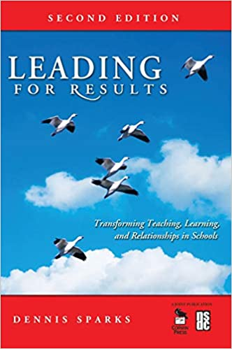Book cover-Leading for Results by Dennis Sparks