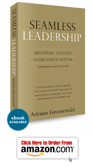 Seamless Leadership Book