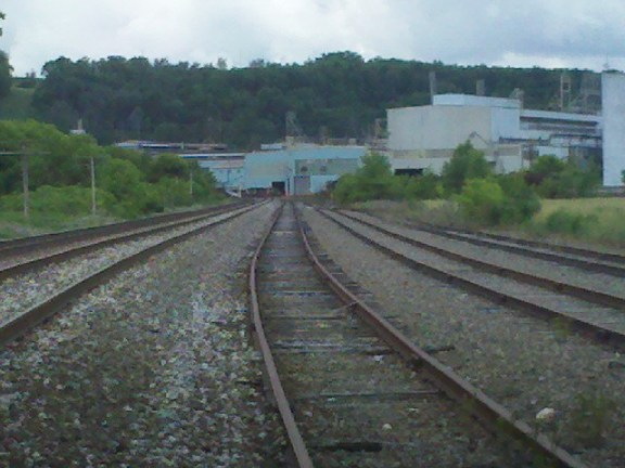 All rails lead to the steel mill in Butler, PA USA (2012)