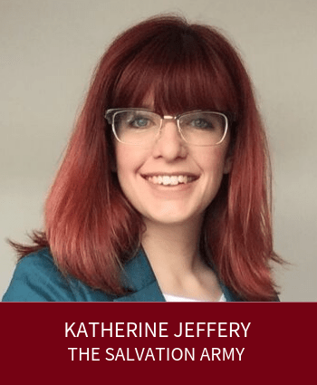 Katherine Jeffery - The Salvation Army and Leaders Plus Fellow