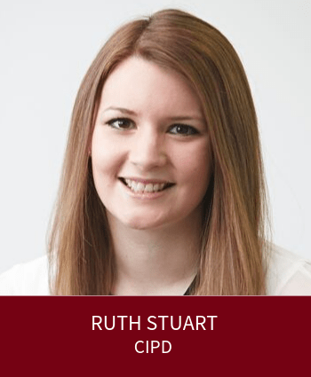 Ruth Stuart - Head of Strategy Development at the CIPD and Leaders Plus Fellow