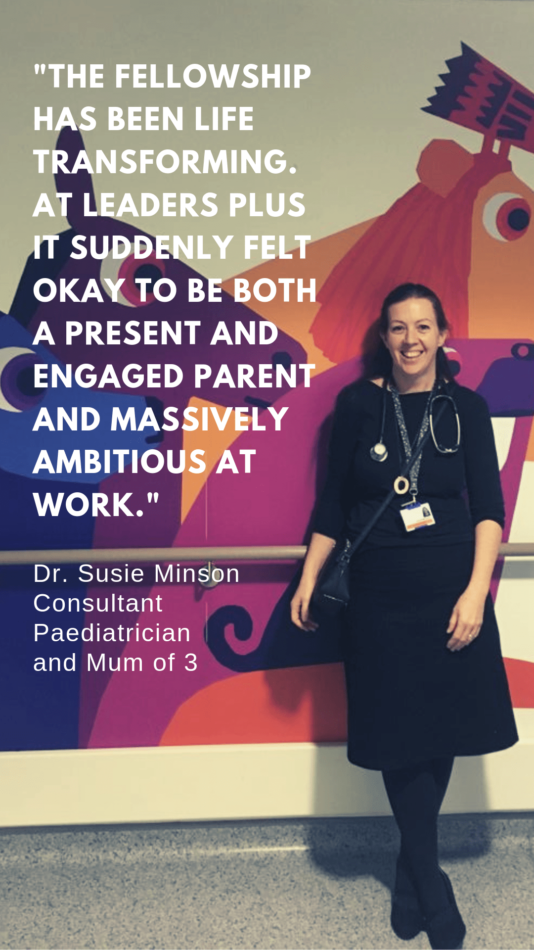 Dr Susie Minson Consultant Paediatrician and Leaders Plus Fellow