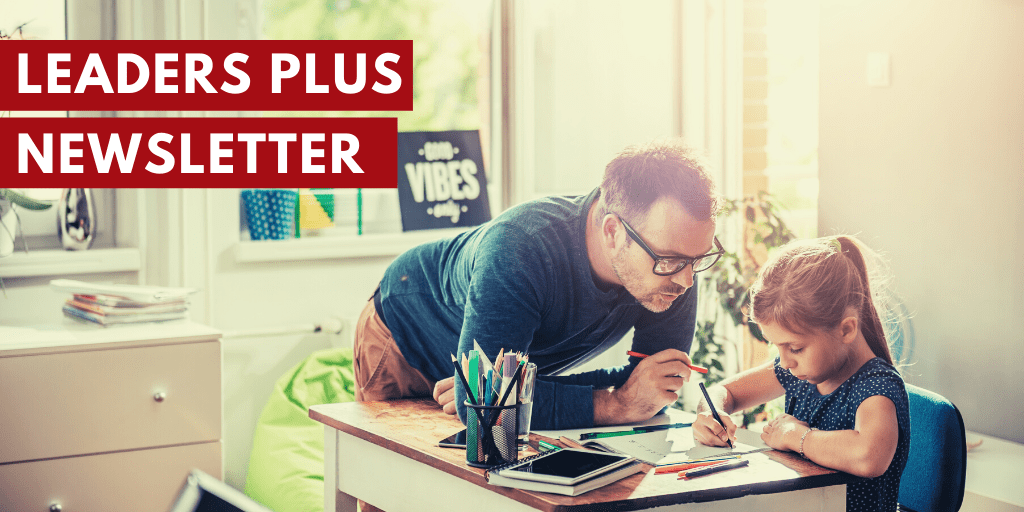Sign up to the leaders plus newsletter