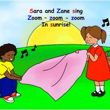 Picture of Sara and Zane Book