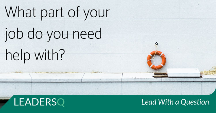 What part of your job do you need help with?