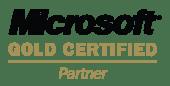 Microsoft certified Gold Partner 微軟認證金牌合作夥伴