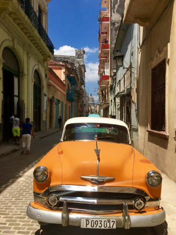 The streets of Habana Vieja