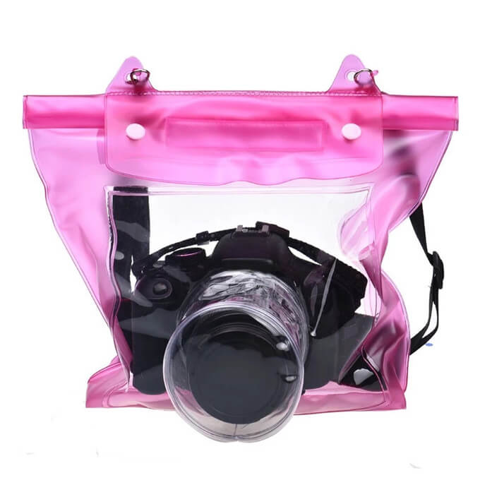 Waterproof Dslr Slr Digital Camera Outdoor Underwater Housing Case Pouch Dry Bag for Canon Nikon