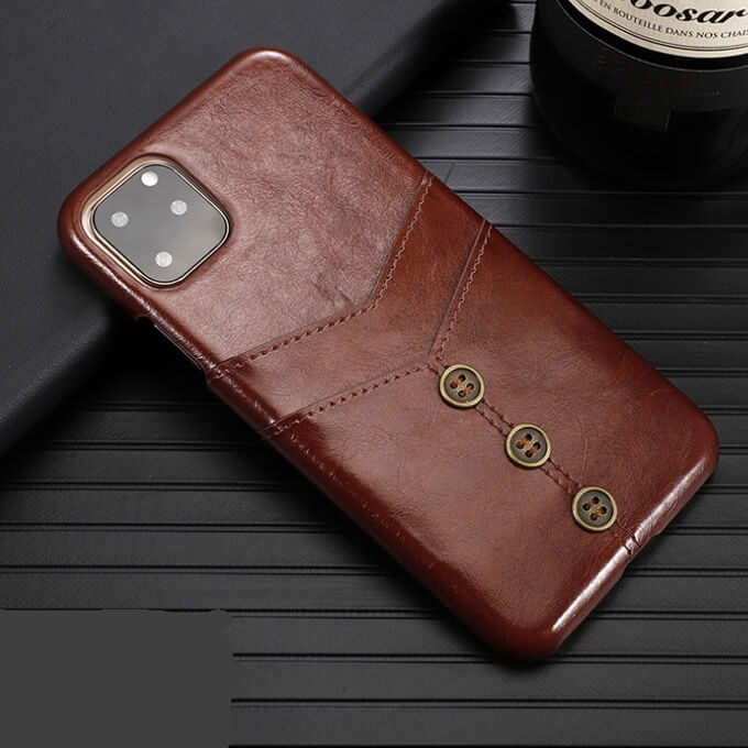 New Hot Luxury Leather Card Slot Wallet Phone Case for iPhone 11 Pro Max