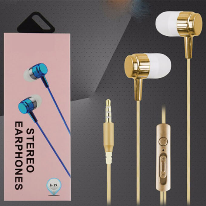 Leadingplus Promotional Wired Earphone 3.5 mm Stereo In-Ear Headphone for Mobile