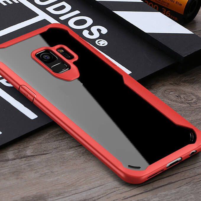 2020 Hot Selling Shockproof Military Material TPU Clear Phone Case for Samsung Galaxy S9