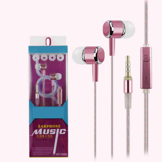 Promotional Gifts Sports Wired Earbuds Earphone With 3.5mm Jack
